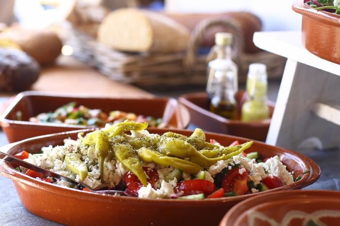 millies thuiskeuken griekse salade