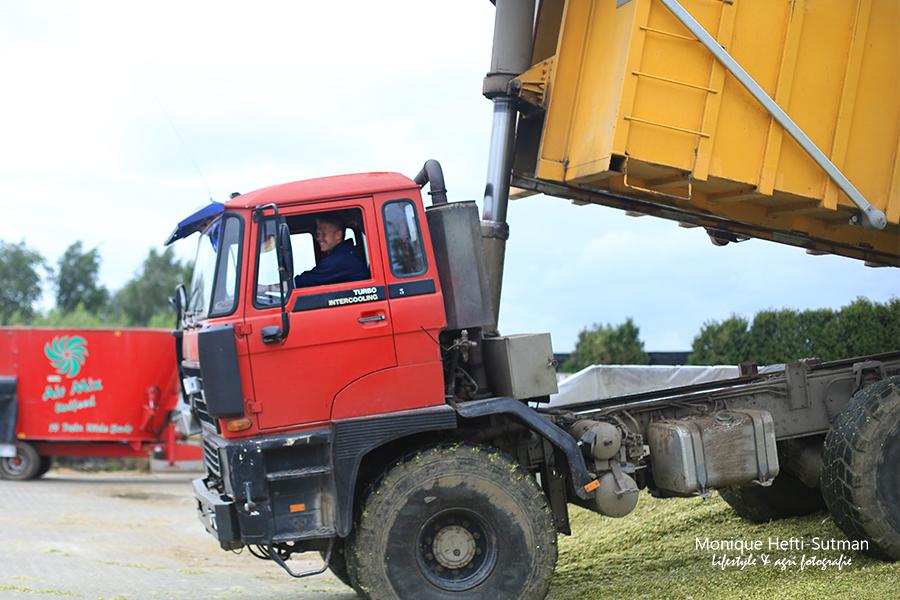 Maisoogst in Heumen en Overasselt agrifotograaf - Loonbedrijf Groesbeek