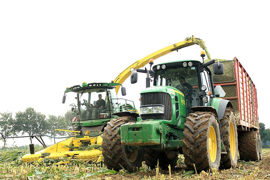oogst mais agrifotograaf
